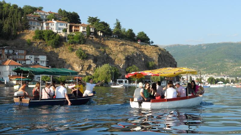 Veľký zážitok bol plavba po jazere