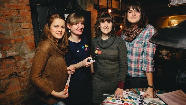Medzinárodná komanda pri organizácií Solyanky – stretnutie cudzincov žijúcich v Nižnom NovgorodeA